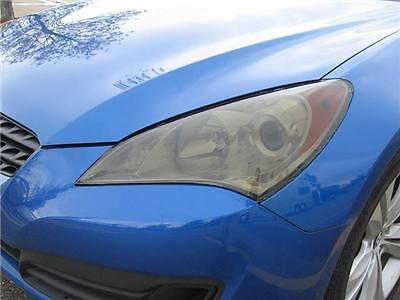 2010-2012 HYUNDAI GENESIS COUPE HEADLIGHT PRECUT TINT OVERLAYS