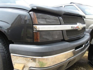 2003-2006 CHEVY SILVERADO HEADLIGHT PRECUT TINT OVERLAYS