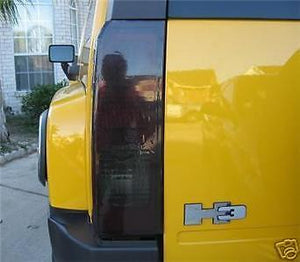 2006-2009 HUMMER H3 TAIL LIGHT PRECUT TINT OVERLAYS