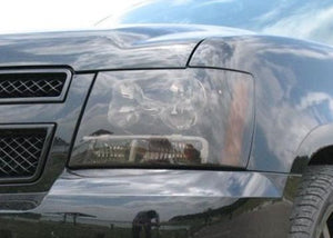 2007-2013 CHEVY AVALANCHE HEADLIGHT PRECUT TINT OVERLAYS