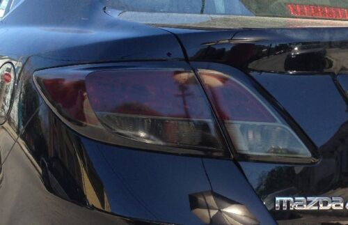 2009-2013 MAZDA 6 TAIL LIGHT PRECUT TINT OVERLAYS