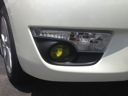 2013-2015 NISSAN ALTIMA SEDAN FOG LIGHT JDM PRECUT TINT OVERLAYS