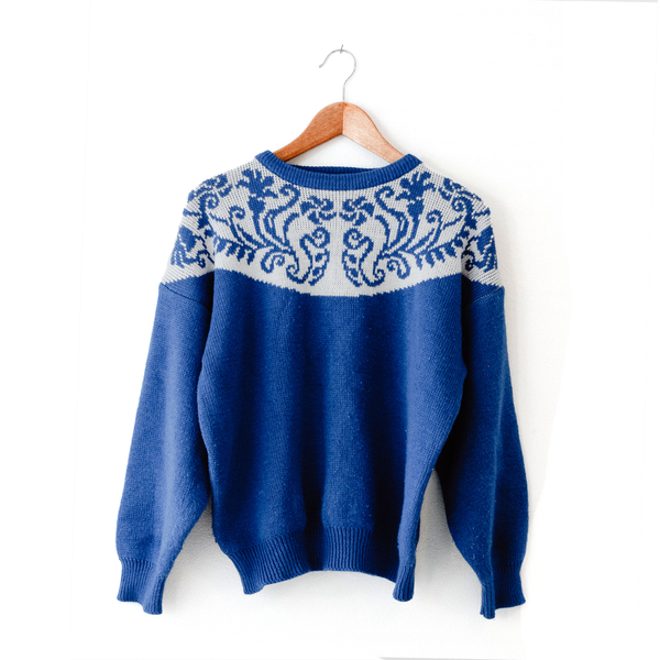 Blue Christmas (Sweater)