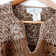 Chocolate 60's Knit