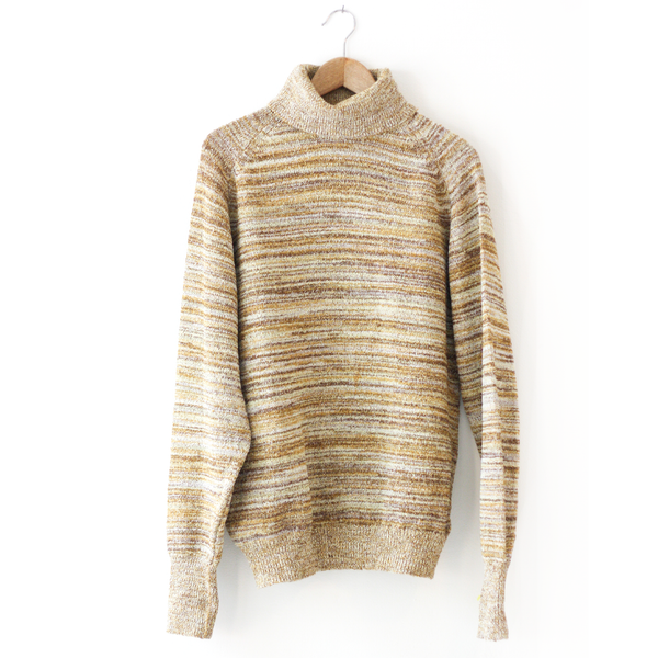 Mustard Stripe Turtle Neck
