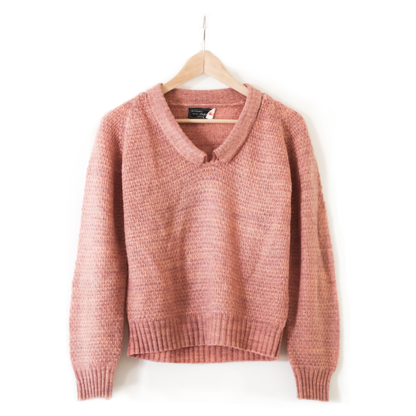 Rose Collared Sweater
