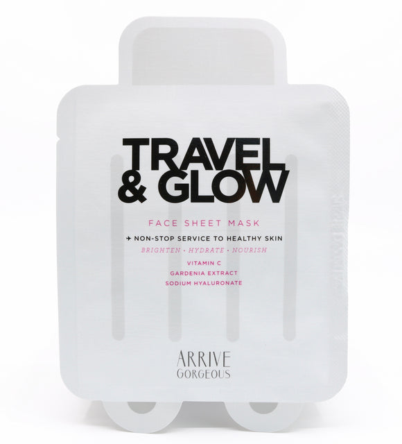 Travel & Glow - Face Sheet Mask (5 PACK)