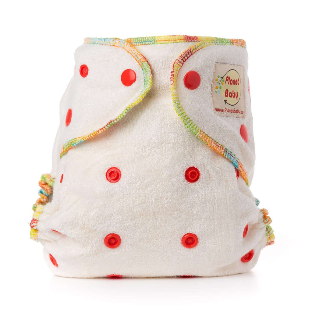 Bamboo Fitted Cloth Diapers