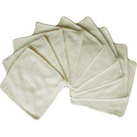 Bamboo Reusable Cloth Wipes - Planet Baby
