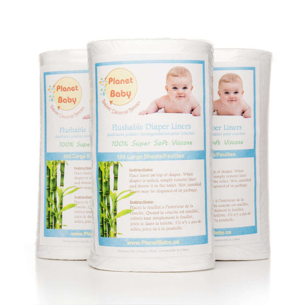 Diaper Liners Disposable Flushable - Planet Baby