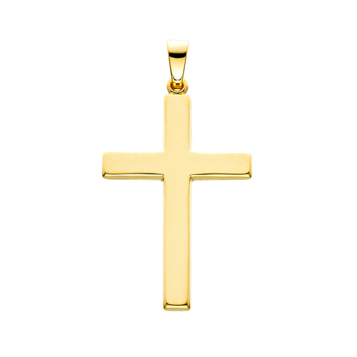 Yellow Gold High Polished Cross