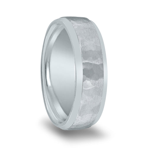 Hammer Matte Finish Center Polished Edge Band