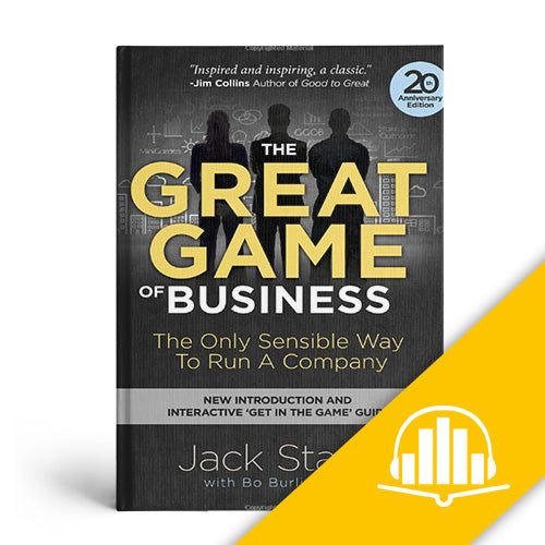 The Great Game of Business 20th Anniversary Edition - Audiobook CD