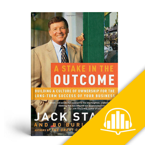 A Stake in the Outcome - Audiobook CD