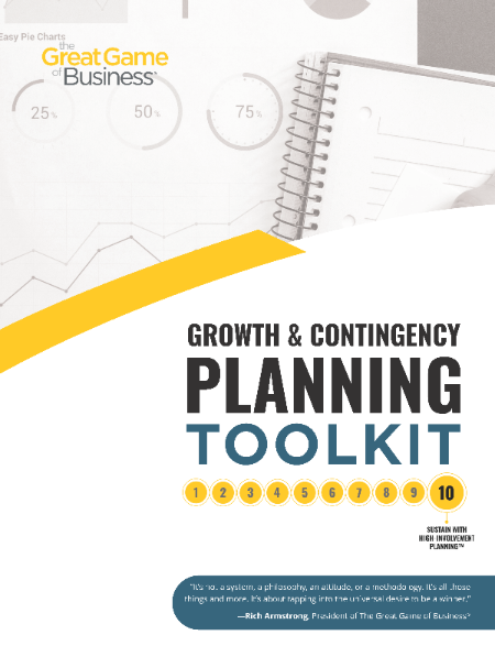 Growth and Contingency Planning Toolkit - digital delivery