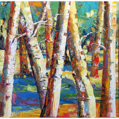 "Melanie Nolker - ""Birch Dominoes"""