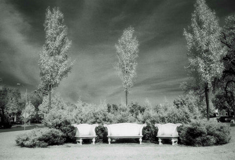 "Anna Dorrance - ""Three Chairs at Ward Parkway"""