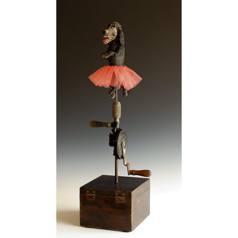 "Steve Jones - ""Twirling Poodle #2"""