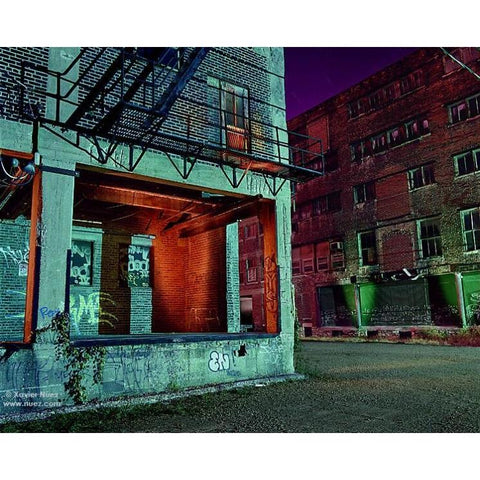 "Xavier Nuez - ""Alleys & Ruins no. 100 , Ghost Story"""