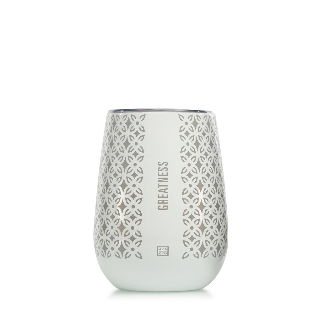Greatness 10 oz Stemless Goblets