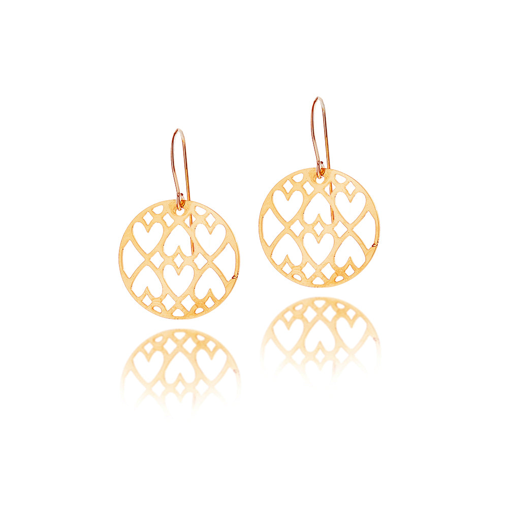 Load image into Gallery viewer, Patience Petite Drop Earrings
