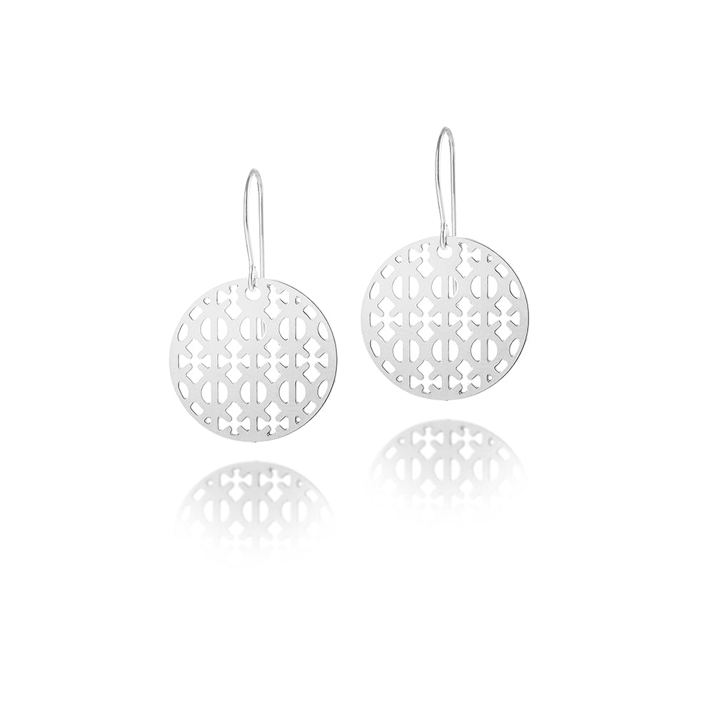 Load image into Gallery viewer, Toughness Petite Drop Earrings