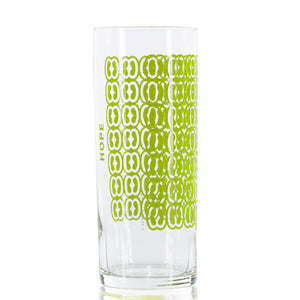 Load image into Gallery viewer, 12 oz. Hope Tall Skinny Glasses