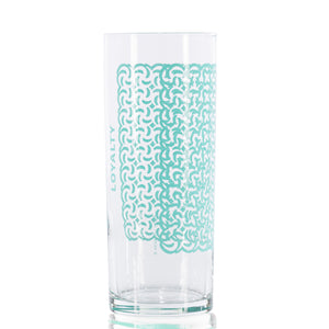 Load image into Gallery viewer, 12 oz. Loyalty Tall Skinny Glasses