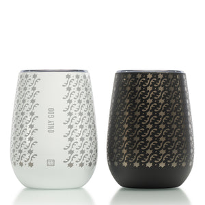 Load image into Gallery viewer, Only God 10 oz Stemless Goblets