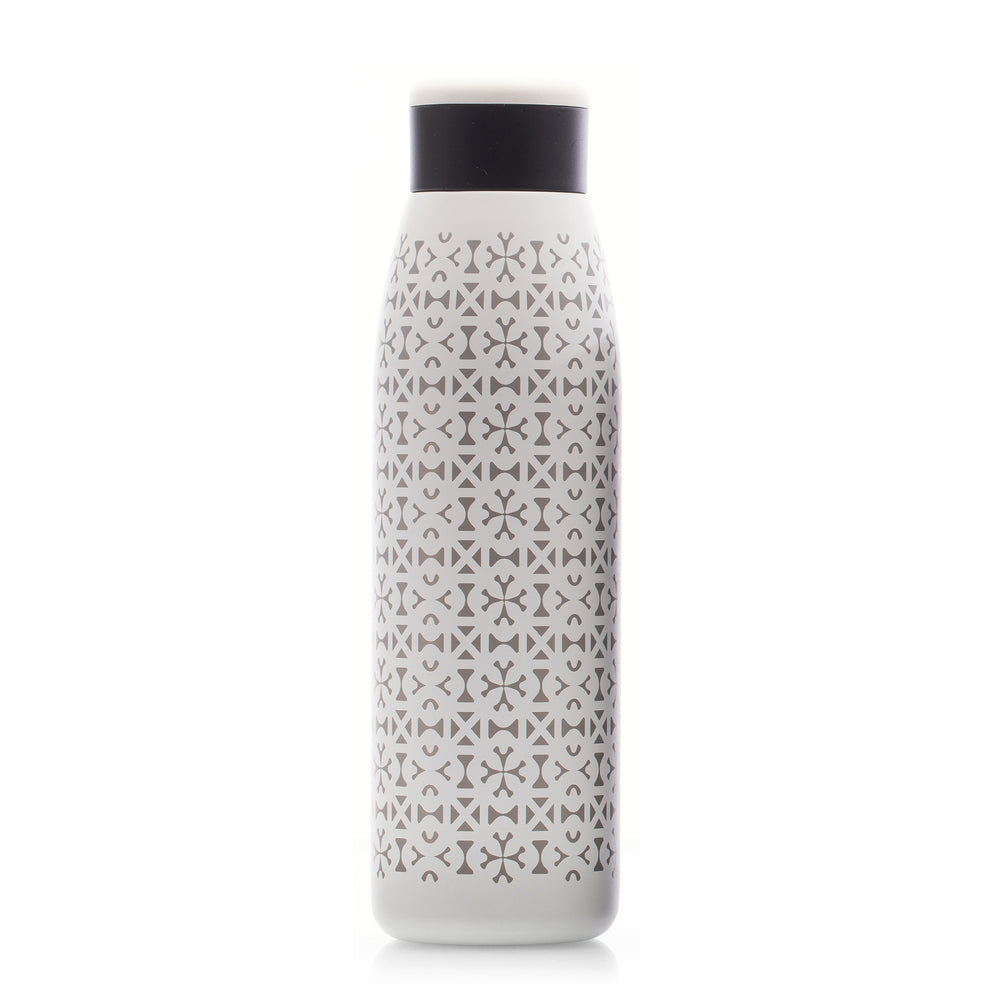 Unity in Diversity 18 oz. Copper-Lined Bottle in White