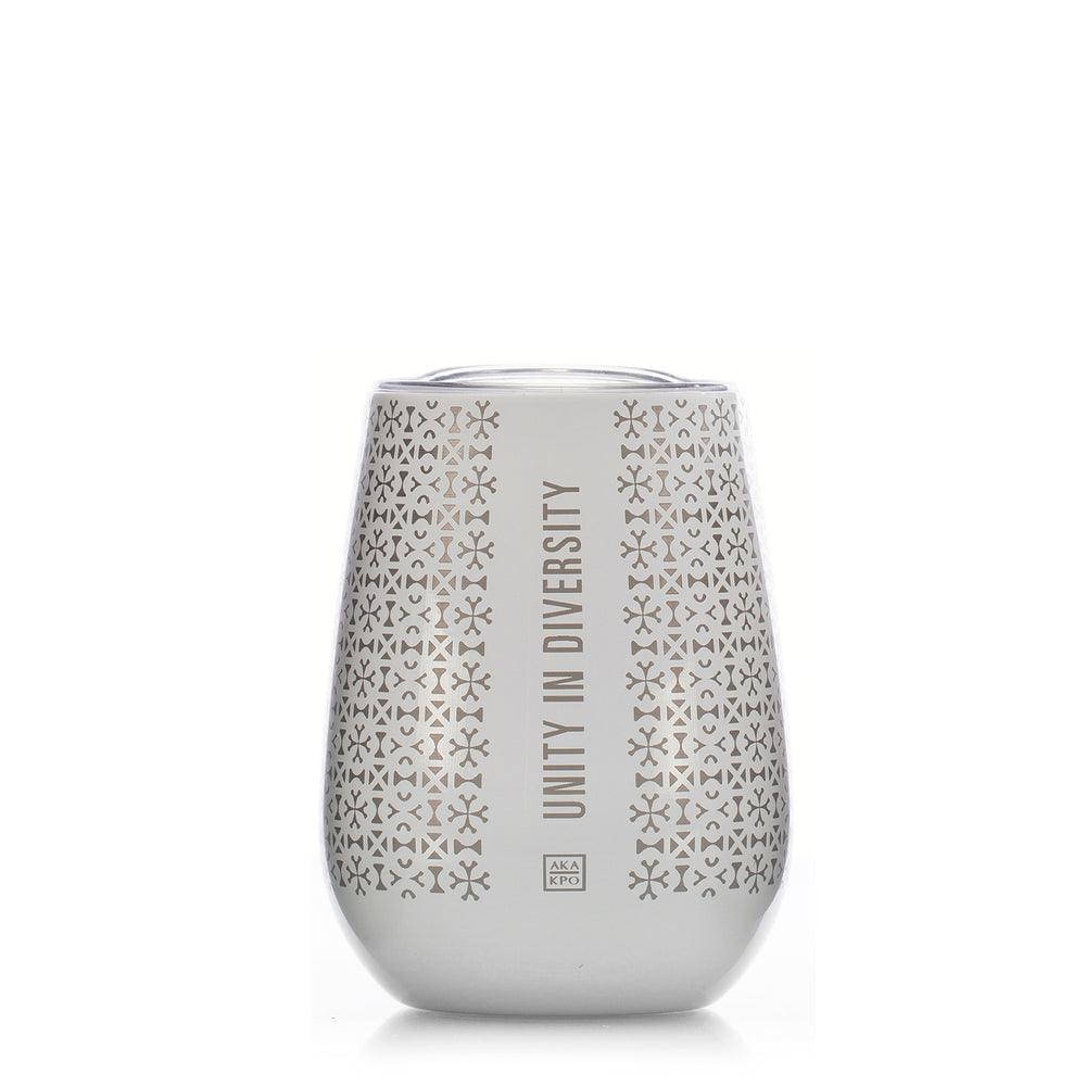 Load image into Gallery viewer, Unity in Diversity 10 oz. Stemless Goblets in White