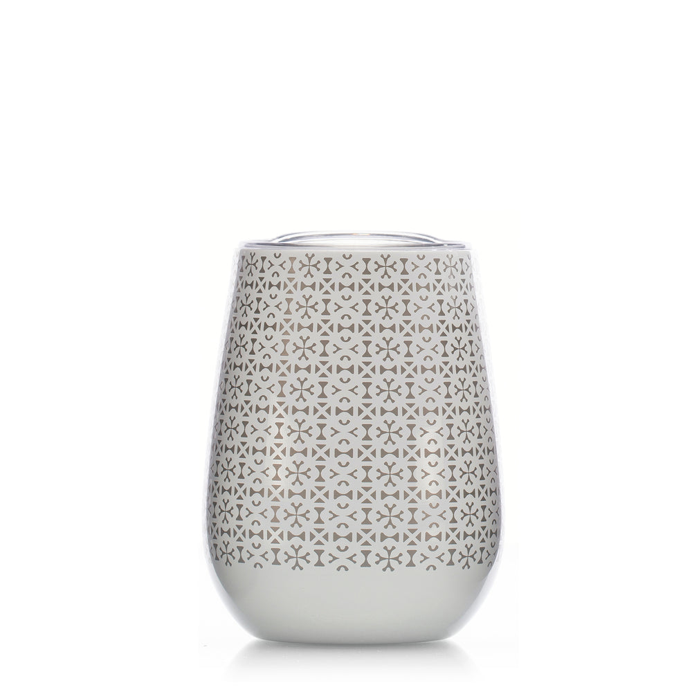 Unity in Diversity 10 oz. Stemless Goblets in White
