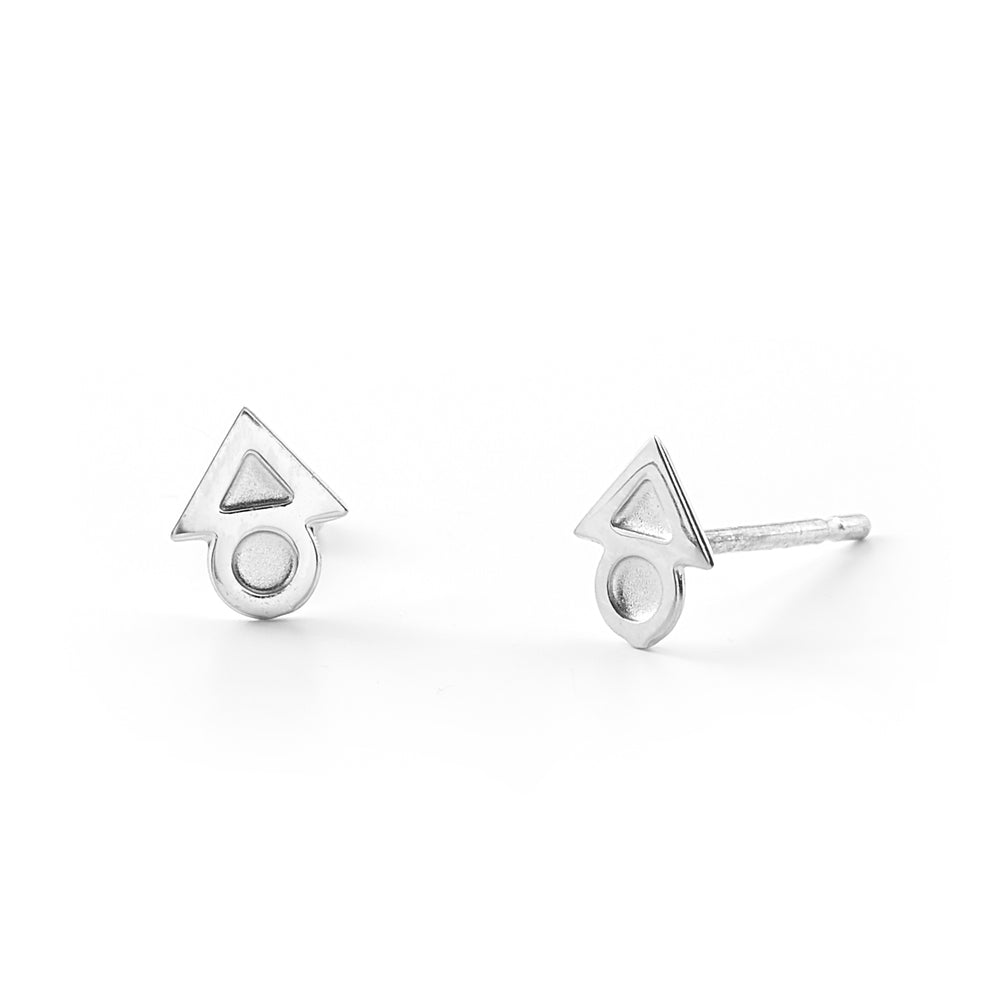 Justice Mini Stud Earrings