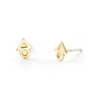 Load image into Gallery viewer, Justice Mini Stud Earrings