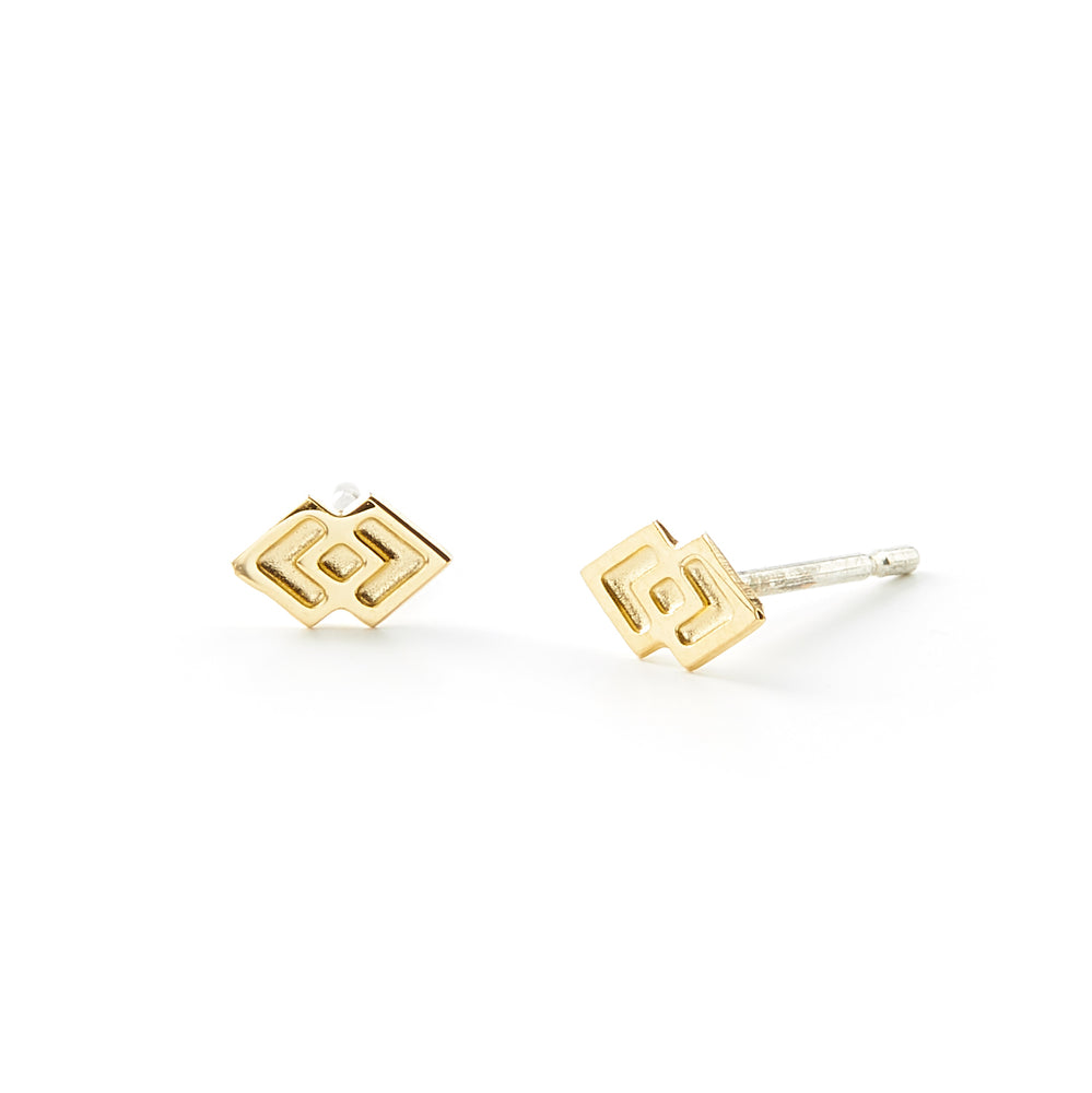 Load image into Gallery viewer, Law and Justice Mini Stud Earrings