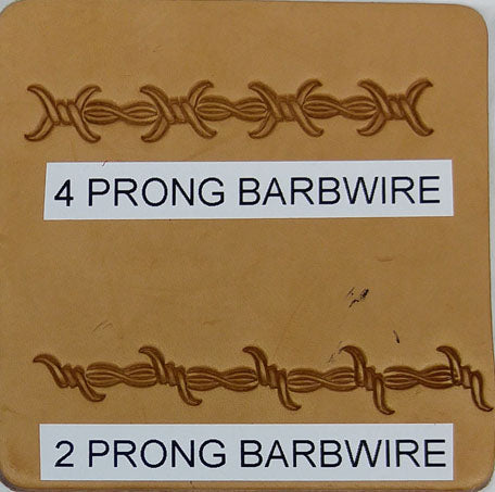 4 Prong Barbwire & 2 Prong Barbwire Border
