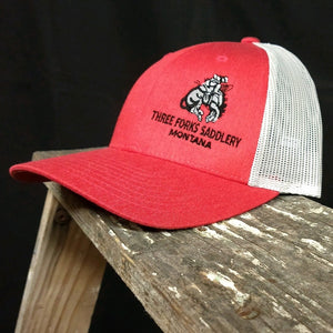Three Forks Saddlery Ballcap