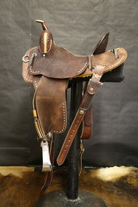 2020 NFR Merrill Barrel Saddle, $2700 + $460