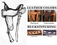 Load image into Gallery viewer, Sue Smith Saddle Builder