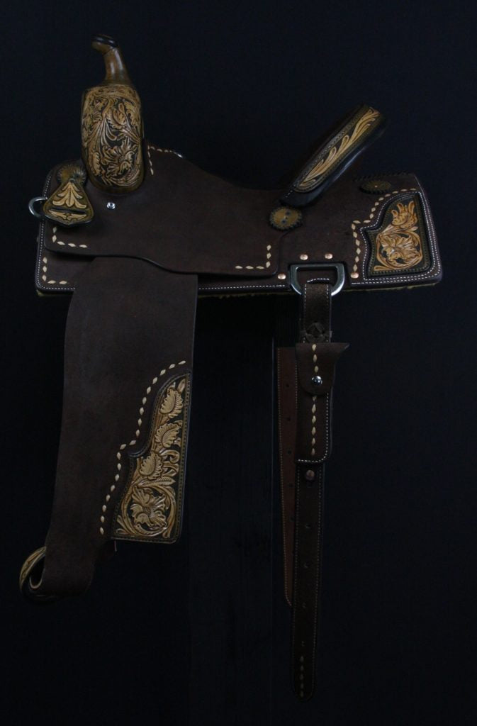 Sue Smith Barrel Saddle 11