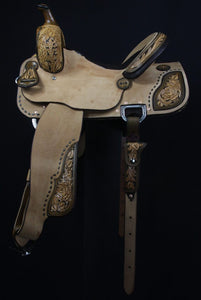 Sue Smith Barrel Saddle 14