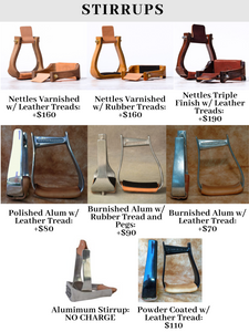 Saddle 9 (Base price + $600)