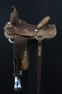 Sue Smith Barrel Saddle 16