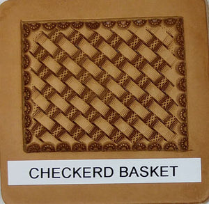 Checkerd Basket