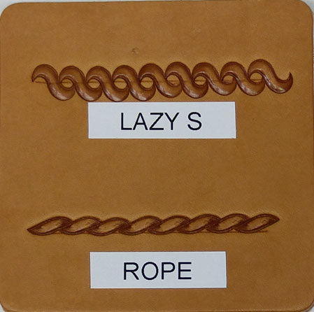 Lazy S & Rope Border