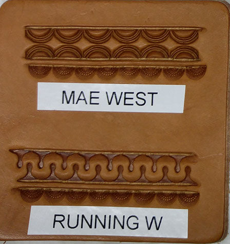 Mae West & Running W Border