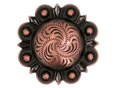 Antique Copper Concho