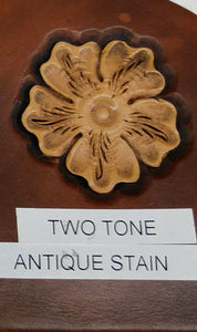Antique Option: Two Tone Antique Stain