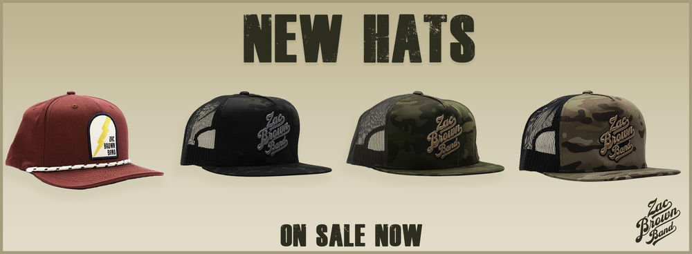 NEW HATS - ON SALE NOW