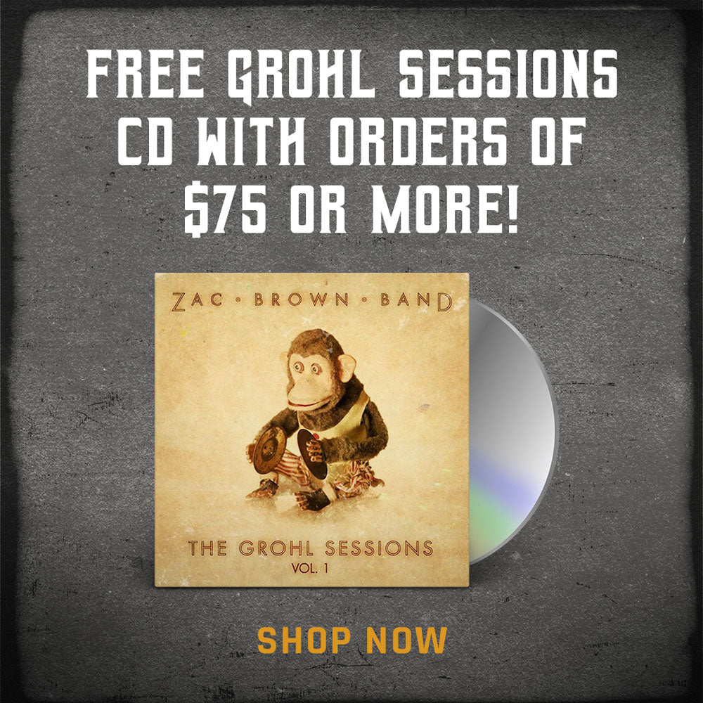Free Grohl Sessions CD with $75 purchase